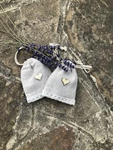 Úžitkový textil - Levanduľové vrecúško - 9727155_