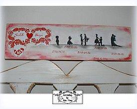 Tabuľky - Svadobná tabulka :) - 9727794_
