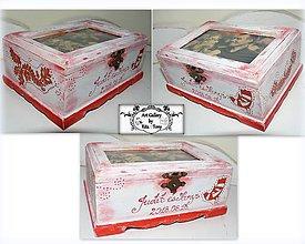 """Krabičky - Krabica s fotkou """"Folklór"""" :) - 9727816_"""