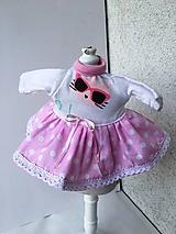 - Šatočky pre bábiky- 25-27 cm - 9727647_