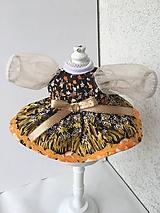 - Šatočky pre bábiky- 25-27 cm - 9727688_