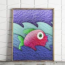 Grafika - Ako ryba vo vode na papieri (3) - 9726378_