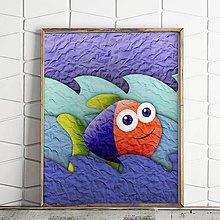 Grafika - Ako ryba vo vode na papieri (4) - 9726380_