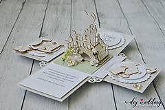 Papiernictvo - Svadobná krabička na peniaze - 9728756_