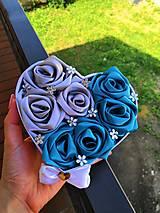Dekorácie - Flower box s ružami - 9729868_