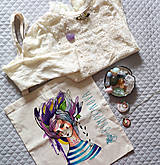 Nákupné tašky - Námorníčka/ Plátená taška - 9729286_