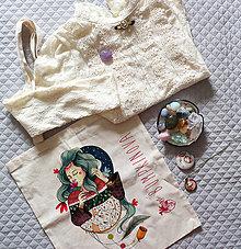 Nákupné tašky - Anička/ Plátená taška - 9729969_