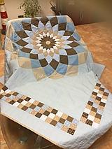 Úžitkový textil - Quilt DAHLIA - 9729742_