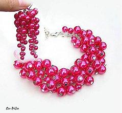 Sady šperkov - Cyklamenová súprava - 9731371_