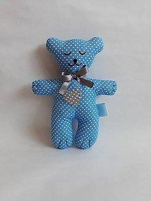 Hračky - #Macko, hračka (Modrá) - 9731378_