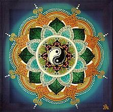 Obrazy - Mandala...Harmónia rodiny a zdravia - 9729016_