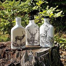 Iné - Ťapky pre lovcov jeleňov Čiernobiele - 9728994_