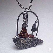 Náhrdelníky - Velcí a malí - Granát - 9730461_