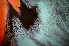 Obrazy - Abstraktný obraz - Zelená a Oranžová - na objednávku - 9730458_