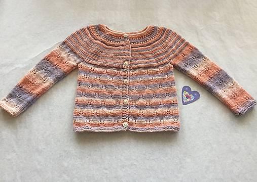dd03962a7631 Dievčenský sveter   ebarath - SAShE.sk - Handmade Detské oblečenie