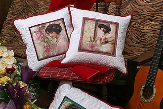 Úžitkový textil - Vankúš .Vintage.2 - 9730209_