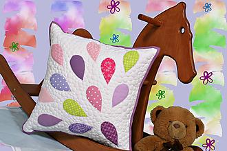 Úžitkový textil - Farebné kvapky - 9731435_