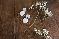 Náušnice - Polymérové náušnice   Gentle circles - 9731071_