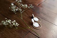 Náušnice - Polymérové náušnice   Gentle circles - 9731072_