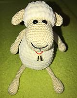 Hračky - Ovečka biela - 9729852_