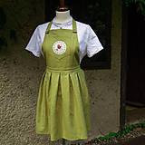 Iné oblečenie - ľanová zástera - 9729782_