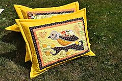 Úžitkový textil - Vankúš - sýkorka.... - 9731429_