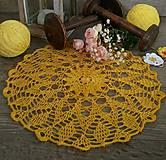 Úžitkový textil - Háčkovaná dečka-Sun - 9732165_