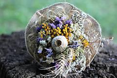 Dekorácie - Sušená kytica - 9733886_