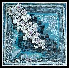 Obrazy - Kvety farby dúhy - 9732778_