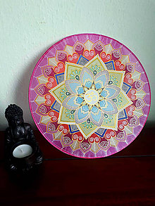 Dekorácie - Mandala Zjednotenia - 9732343_