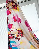 Textil - Látka Ballet shoes - potlač z originál maľby - 9732167_