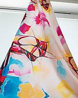 Textil - Látka Ballet shoes - potlač z originál maľby - 9732168_