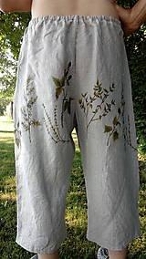 Nohavice - Pánske kraťase ľanové - 9731859_
