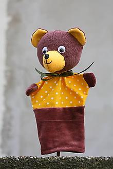 Hračky - Maňuška. Zvieratko Macko Brumko - 9732045_