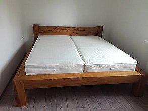 Nábytok - Dubová posteľ - 9734144_