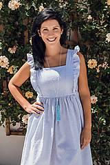Tehotenské oblečenie - Šaty FORGET-ME-NOT Stripes1 - 9734120_