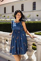 Tehotenské oblečenie - Šaty FORGET-ME-NOT Dragonfly - 9734148_