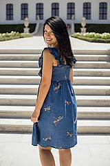 Tehotenské oblečenie - Šaty FORGET-ME-NOT Dragonfly - 9734150_