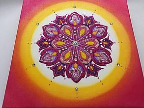 Obrazy - Význam farieb v mandale - 9732190_