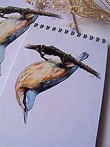 Papiernictvo - Zápisník :Brhlík akrobat - 9732224_