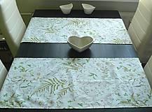 Úžitkový textil - Obrus - štóla rozkvitnutá lúka - 9734044_