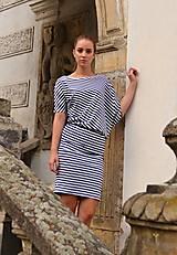 Šaty - Miss sailor - asymetria - 9732856_