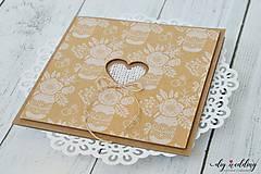 Papiernictvo - Svadobné oznámenie Na ľudovú nôtu - 9735752_