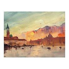Obrazy - Vecer v Benatkach - 9735105_