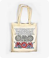 - Bavlnená taška Tri obdobia kvetu - 9736112_