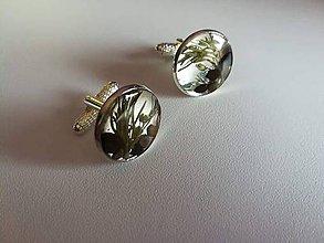 Šperky - Manžetové gombíky Forest - 9734902_