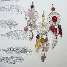 Náhrdelníky - Lapače snov - tri farby - 9734555_