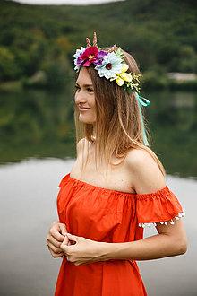 Šaty - Šaty s odhalenými ramenami - 9734431_