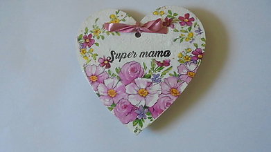 Magnetky - Magnetka-Super mama - 9734935_
