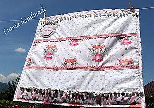 Textil - dievčenská deka - 9734457_